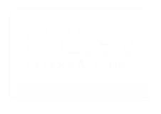 Colliers logo wit met transparante achtergrond